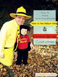 Curious George Halloween Costume Toddler Diy Halloween Costume Man Yellow Hat Curious George