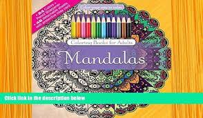 Audiobook Creative Haven Mandalas Color Number Coloring Book