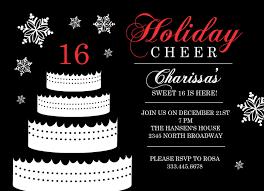 sweet 16 birthday invitation templates free orax info