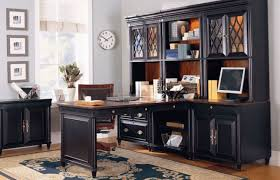 furniture amazing office desk with file cabinet black office
