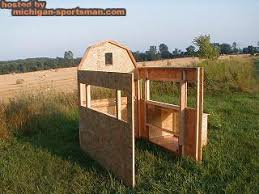 Sliding Deer Blind Windows Deer Blind Windows Michigan Sportsman Online Michigan Hunting