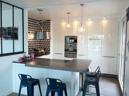 papier peint pour cuisine blanche 17ème papier peint géométrique cuisines contemporaines et