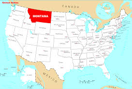 Usa Map Alaska by Geo Map Usa Montana Us Map Montana Montana Map Usa Montana Maps
