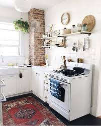 cozy kitchen ideas cosy kitchen with exposed brick wall adding charm and character to