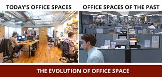 office space techspace blog the evolution of office space design