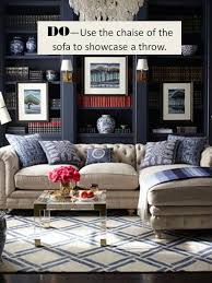 How To Throw A Party In A Small Space - design guide how to style a sectional sofa confettistyle