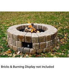 How To Build A Gas Firepit Diy Gas Pit Kit 38 Woodlanddirect Outdoor