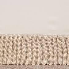 opulence fringed tailored bedskirt