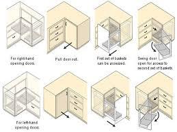 Ikea Kitchen Base Cabinet Decor Captivating Blind Corner Cabinet For Kitchen Decoration