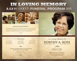 modern funeral programs in loving memory funeral program 6 dollar flyers 6 dollar