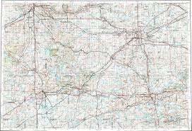 Battle Creek Michigan Map by Download Topographic Map In Area Of Grand Rapids Lansing