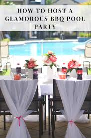Bbq Party Decorations How To Host A Glamorous Bbq Pool Party U2013 Mikialamode