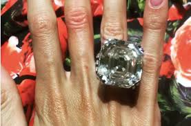 million dollar engagement ring inside the wedding of a model and a russian oligarch including a