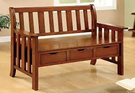 entryway bench with backrest back and arms in storage prepare low