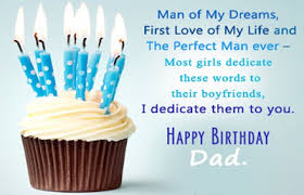 birthday wishes for a dad from his daughter http www