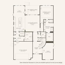 Westfield Floor Plan by Bourges At Lantern Park In Westfield Indiana Pulte