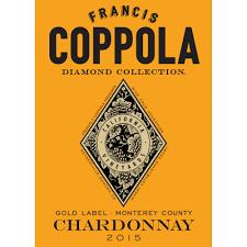 francis coppola diamond collection francis ford coppola diamond collection chardonnay 2015 wine