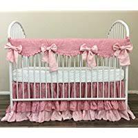Shabby Chic Crib Bumper by Amazon Com Shabby Chic Crib Bedding Nursery Bedding Handmade
