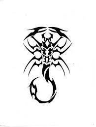 black tribal scorpio flash by ghstkatt s