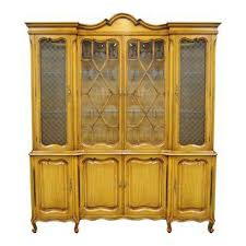french country china cabinet for sale vintage used french country china and display cabinets chairish