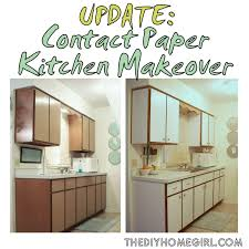 Cabinet Door Makeover Concrete Countertops Contact Paper Kitchen Cabinets Lighting
