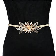 Flower Belts - designer belts for women waist belt leather belt and more newchic