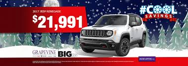 big red jeep new vehicle specials in dallas tx grapevine chrysler dodge jeep ram
