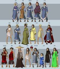 clothes avatar thelastairbender