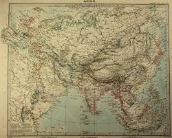 World Map Of Asia by Map Of Asia 1890