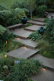 Balinese Garden Design Ideas 20 Landscape Lighting Design Ideas Wooden Steps Landscape