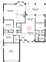 Florida Floor Plans Victoria Iii Floorplan 2722 Sq Ft Heritage Pines Florida