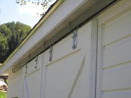 Barn Door Kite by Outside Sliding Barn Door