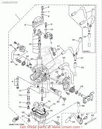 yamaha tw200 carburetor diagram tw200 carburetor cleaning