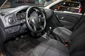 renault sandero stepway interior dacia u0027s refreshed sandero sandero stepway and logan mcv join