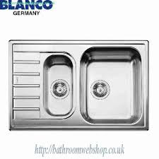 Kitchen Sink Capacity by Steel Kitchen Sinks Blanco Livit 6 S Compact Stainless Steel