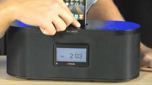 sony xdrs10hdip hd radio dock youtube