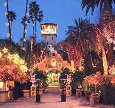 The Mission Inn Festival Of Lights Carriage Rides At The Mission Inn In Riverside Martini Ranch
