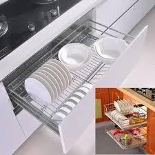 coulisse tiroir cuisine 350mm tiroir de rangement panier à coulisse cuisine placard armoires