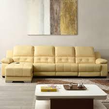 canape angle cuir relax canapé angle relax manuel à méridienne droite avec console en cuir