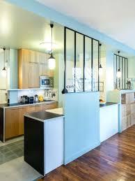 fenetre separation cuisine verriere chambre sans fenetre inspiration apartment studio space