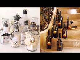 Wine Bottle Home Decor Diy Bottle Of Glass Art Home Decor Ideas Beautiful Painted Pic