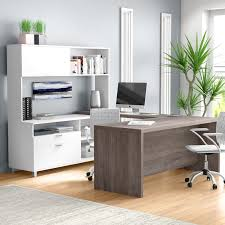 U Shape Desk Mercury Row 4 U Shape Desk Office Suite Reviews