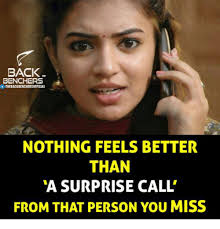 Surprise Meme - back benchers nothing feels better than a surprise call from that