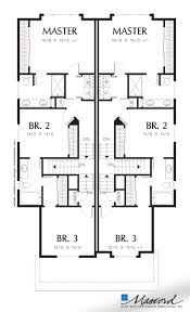 Duplex Plan 825 Best Multi Family Plans Images On Pinterest Floor Plans