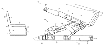 Lazy Boy Lift Chairs Patent Us7090297 Heavy Lift Chair Google Patents