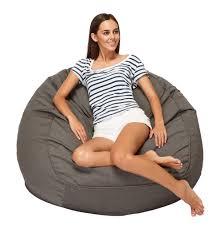 grey bean bag chair marine xlarge outdoor bean bag