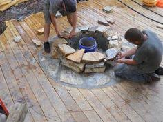 Fire Pit Mat For Wood Deck by Best Fire Pit On Wood Deck Ideas Http Voca Martialartsny Com