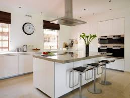 black kitchen island with stainless steel top 13 fantastic kitchens with black appliances pictures