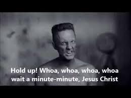 Jesus Crust Meme - whoa wait a minute jesus christ meme die antwoord for