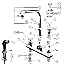 gooseneck kitchen faucet delta single handle shower diagram